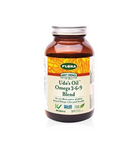 Udo's Choice® Udo's Oil™ Omega 3+6+9 Blend capsules