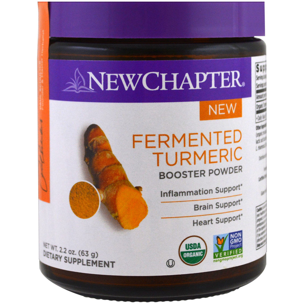 New Chapter Organic Fermented Turmeric Powder