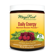MegaFood - Daily Energy Booster Powder, 30 Servings (52.5 g)