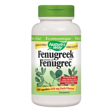 Nature's Way Fenugreek Seed Value Size