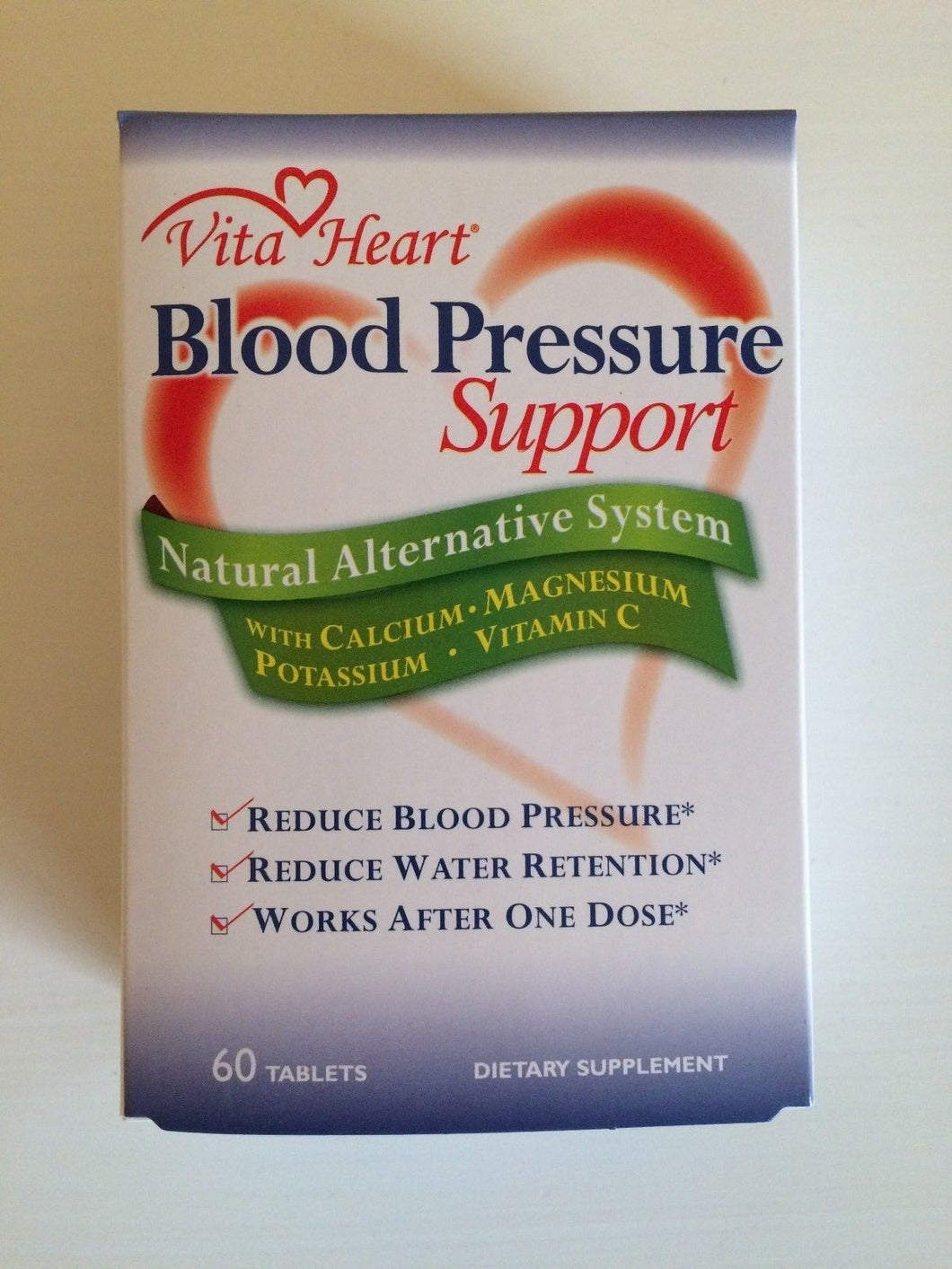 VITAHEART BLOOD PRESSURE SUPPORT - 60 CAPLETS