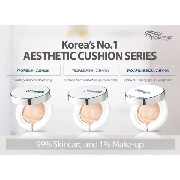 Troi areuke cushion foundation compacts Korean beauty spa luxury skincare and makeup line