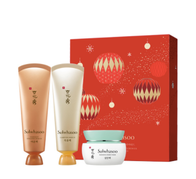 *Limited edition Sulwhasoo Mask Trio Holiday Collection