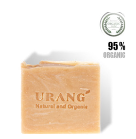 Urang Natural Handmade Facial Soaps 95% Organic - Bed of Roses