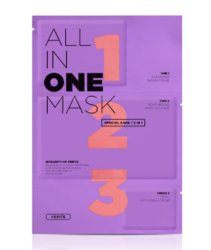 Verite  All in One 3 Step Sheetmask