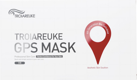 *RENEWED Troiareuke 3-Step GPS Bio-cellulose Sheetmask