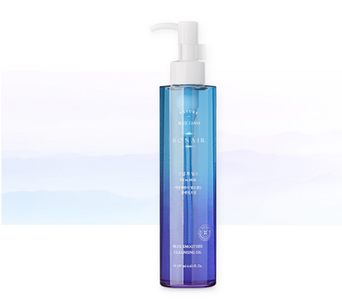 Bonair Blue Smoother Oil to Milk Cleanser
