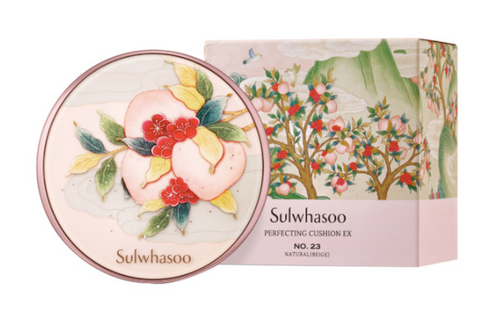 *Limited Edition Sulwhasoo Perfecting Cushion EX SPF50+PA+++  Peach Blossom Spring Utopia Collection