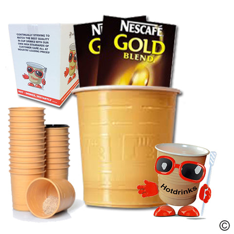 Nescafe Gold Blend White & Sugar (25 or 300)