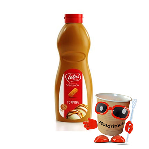 Lotus Biscoff Topping Sauce (1 kg bottle or pack of 8 x 1kg bottles)
