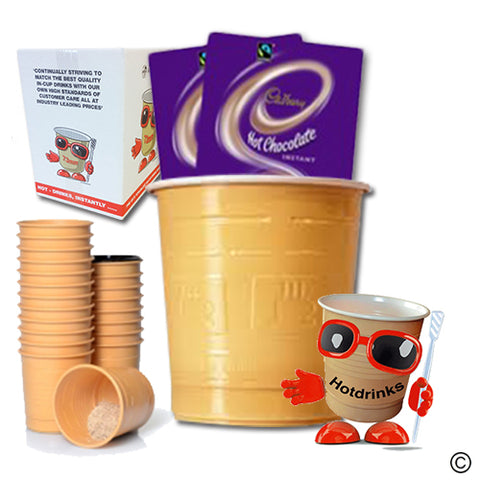 Cadbury Hot Chocolate (25 or 300)