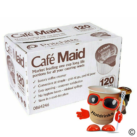 Cafe Maid Creamer Pots (120)