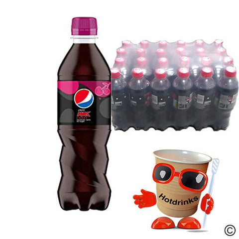 24 x 500ml Pepsi Max Cherry Drink bottles - COLLECTION ONLY