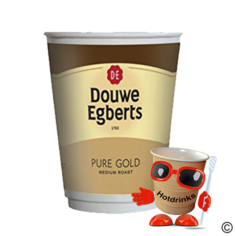 2Go Douwe Egberts 'Pure Gold' Coffee White