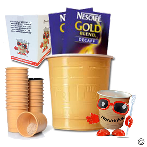 Nescafe Gold Blend Decaff White (25 or 300)