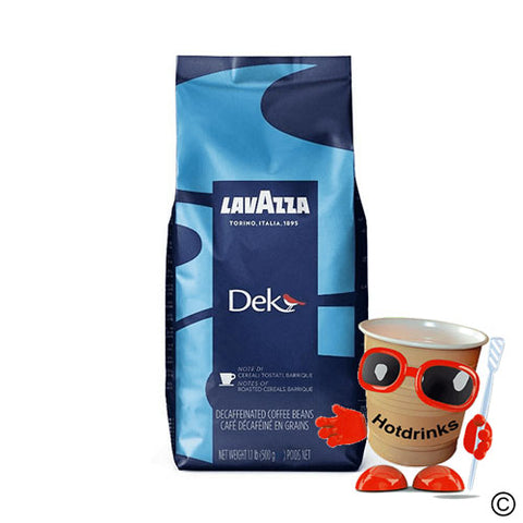 LavAzza decaf DEK coffee beans (500g)