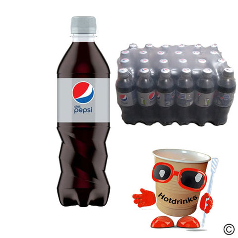 24 x 500ml Diet Pepsi Cola Drink bottles - COLLECTION ONLY