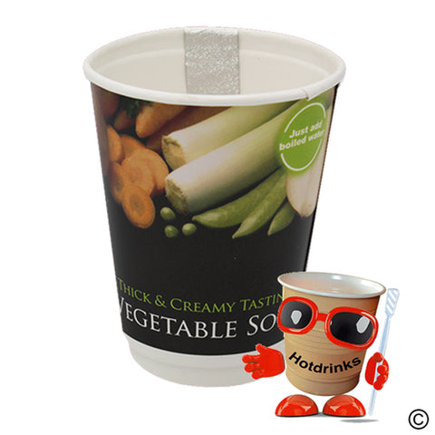2Go Vegetable 'Thick & Creamy' Soup