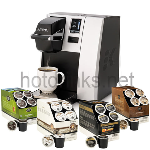 Keurig® K150P Manual Fill Coffee Machine & 96 FREE Pods