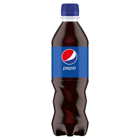 24 x 500ml Pepsi Cola Drink bottles - COLLECTION ONLY