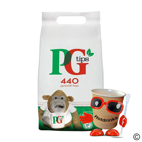 PG Tips Catering Tea Bags, 440 Pyramid Bags
