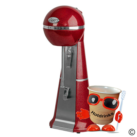 Shmoo Milkshake Mixing Spindle Machine - RED