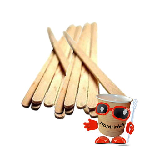 "Wooden Stirrers 110mm/4.25"" (1,000)"