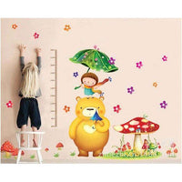 Bears in the picture book wall stickers - Kids Room Deco