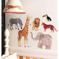 Wild Animals Vinyl Decals