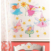 Cute Fairies Vinyl Decals - Kids Room Deco
