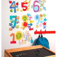 Counting Numbers Vinyl Decals - Kids Room Deco