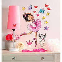 Ballerina Vinyl Decals - Kids Room Deco