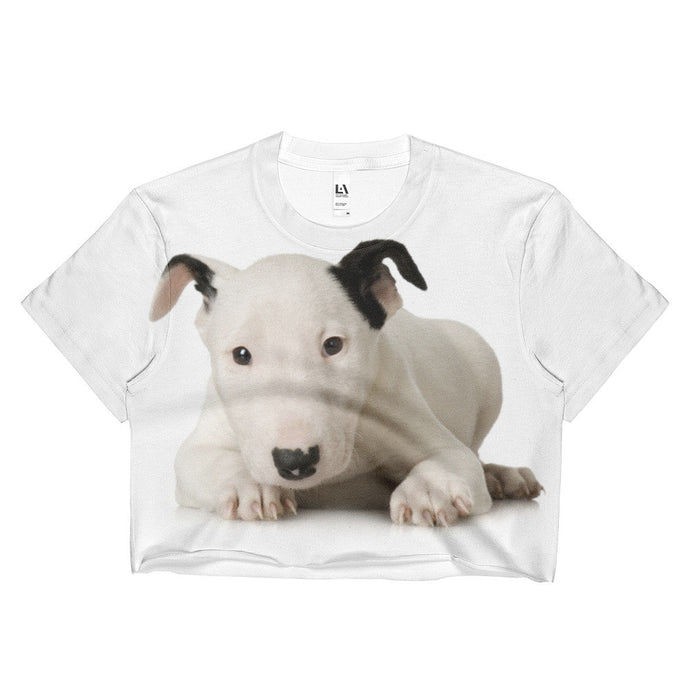 Bull Terrier - Ladies Crop Top
