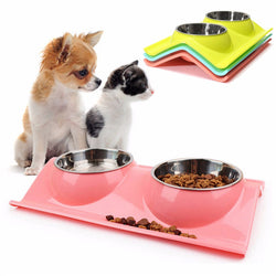 Stainless Steel Dual Heat-Resistant Bowl