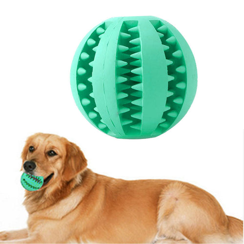 1PC Dog Ball Toys Pet Small Dog Play Squeaky Squeaker Quack Sound Chew Treat