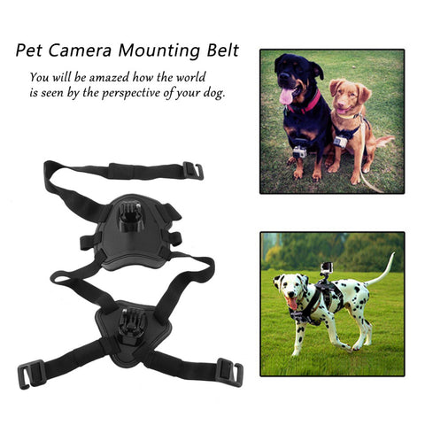 Action Camera Chest Strap Mount For Gopro