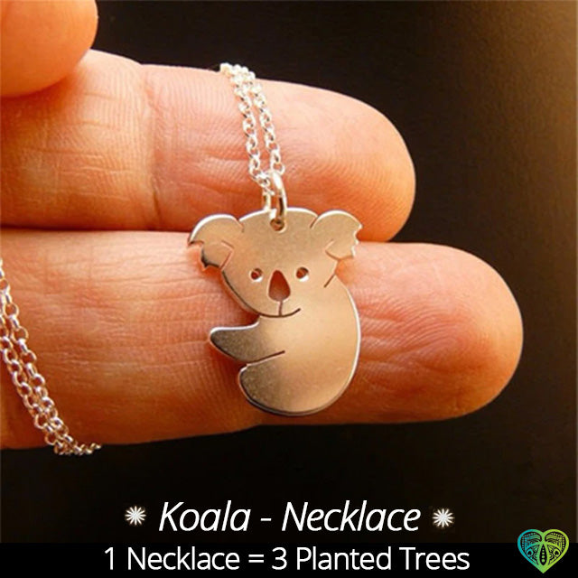 Koala Necklace - (Koala-TreePlanting)