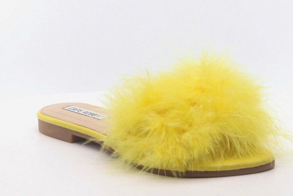 Yellow Feather Slides