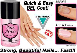 Sundaypop™ Pink Armor Nail Gel ,AS SEEN ON TV