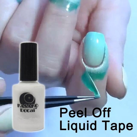 15ml Peel Off Liquid Tape & Peel Off Base Coat Nail Art Liquid Palisade Keep Fingers Clean