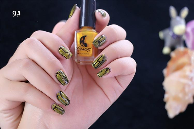 Cracked Nail Polish 3 Pcs/Set Background Oil+ Cracked Oil+ Seal ...