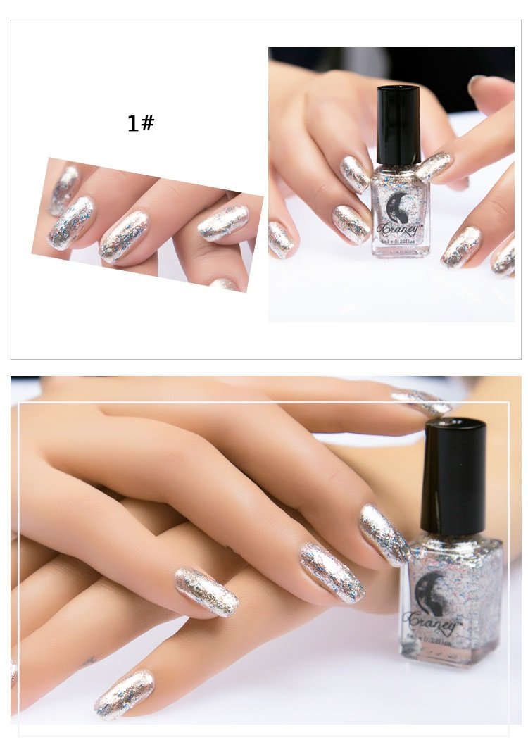 Fashion Sexy New Flashing nail polish For Women Girl As Makeup Tool