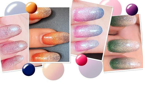 Sundaypop™  New Gradient Nail Stickers