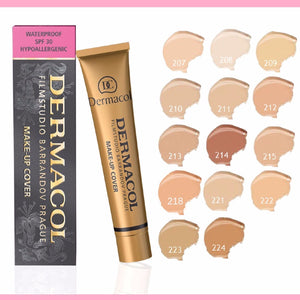 DERMACOL Makeup Cover Film Studio Legendry Waterproof Foundation Make Up 30g