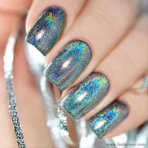 2018 Hot Laser Diamond Holographic Holo Glitter Nail Polish
