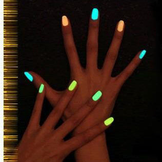 Luminous Nail Polish Environmental Protection Fluorescent Colored Nail Polish