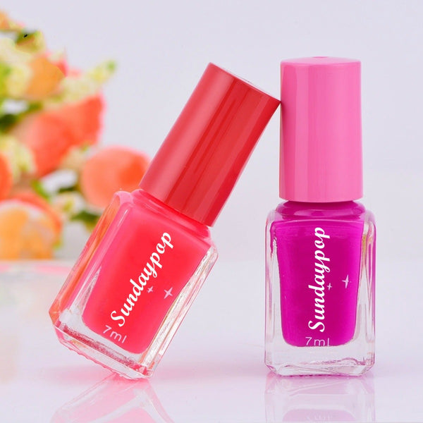 Sundaypop™ Luminous Nail Polish Environmental Protection Fluorescent Colored Nail Polish