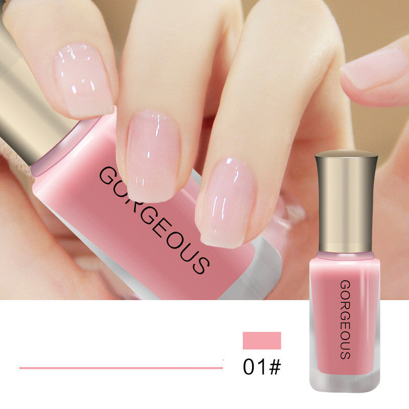 10Ml Candy Nude Quick-Drying Translucent Jelly Nail Polish – Cutevivi