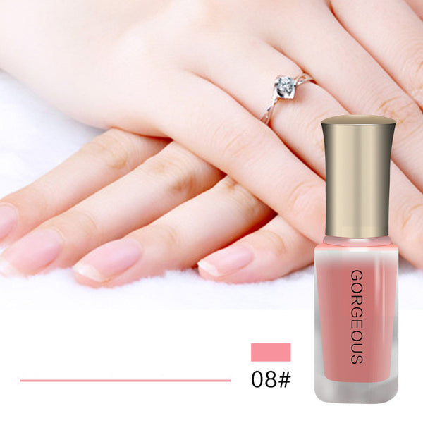 10Ml Candy Nude Quick-Drying Translucent Jelly Nail Polish