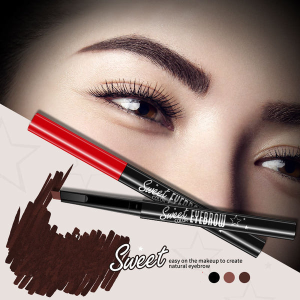 Sundaypop™ Natural Qiao Three-Dimensional Waterproof Automatic Rotating Eyebrow Pencil